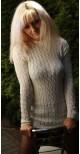 Kremowy Sweter